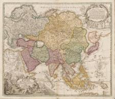 Asiae recentissima delineatio, qua status et imperia totius Orientis unacum Orientalibus Indiis exhibentur. Authore Ioh. Bapt. Homann