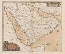 Arabiae Felicis, Petraeae et Desertae nova et accurata delineatio