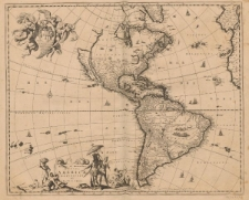 Novissima et accuratissima totius Americae descriptio per N. Visscher