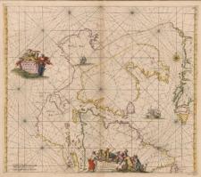 Septentrionaliora Americae a Groenlandia, per Freta Davidis et Hudson, ad Terram Novam