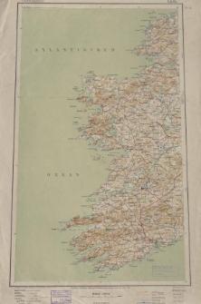 Übersichtsblatt der Operationskarte 1:800 000 - Cork