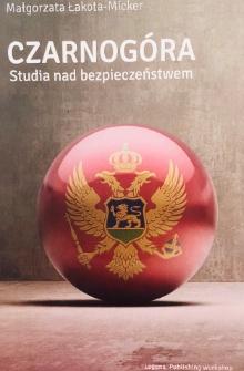 Czarnogóra. Studia nad bezpieczeństwem.
