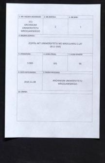 Präsidial-Conferenz Protocolle, 15.07.1818 - 6.11.1824