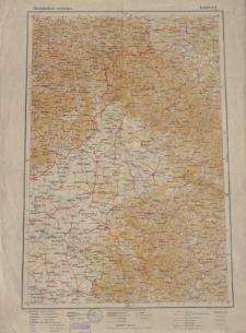 Übersichtsblatt der Operationskarte 1:800 000 - Lemberg