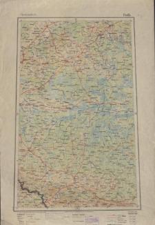 Übersichtsblatt der Operationskarte 1:800 000 - Pinssk