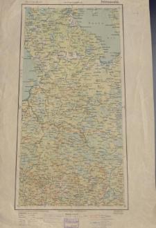 Übersichtsblatt der Operationskarte 1:800 000 - Petrosawodsk