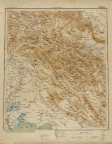 Übersichtsblatt der Operationskarte 1:800 000 - Isfahân
