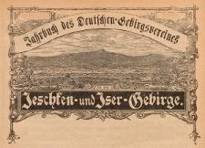 Jahrbuch des deutschen Gebirgsvereines für das Jeschken- und Isergebirge 1918 Jg. 28