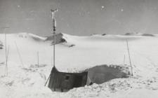 Obóz glacjologiczny na Lodowcu Werenskiolda