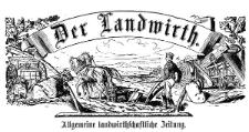 Der Landwirt 1872-01-03 Jg. 8 Nr 1