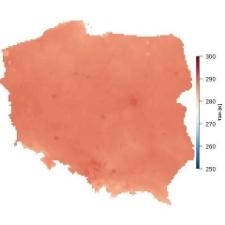 Średnia temperatura maja