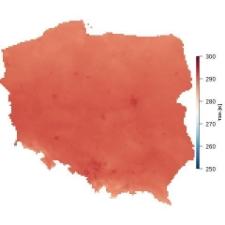 Średnia temperatura czerwca