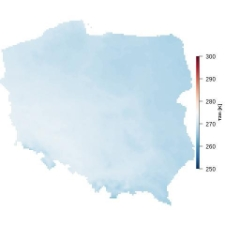Średnia temperatura marca