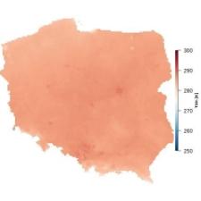Średnia temperatura kwietnia