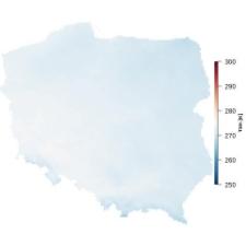 Średnia temperatura lutego