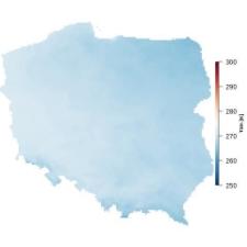 Średnia temperatura stycznia