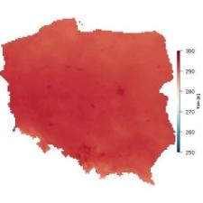 Średnia temperatura lipca