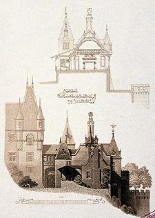 Architektonisches Skizzenbuch, 1875, Heft (III) CXXXII, Blatt 4