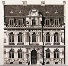 Architektonisches Skizzenbuch, 1875, Heft (VI) CXXXV, Blatt 3
