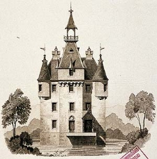 Architektonisches Skizzenbuch, 1875, Heft (VI) CXXXV, Blatt 6