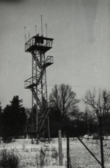 nowa wieża pomiarowa w pierwotnej wersji - zima