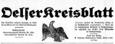 Oels'er Kreisblatt 1928-04-06 Jg. 66 Nr 14