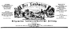 Der Landwirt 1879-06-20 Jg.15 Nr 50
