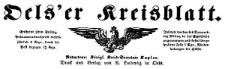 Oels'er Kreisblatt 1866-01-12 Jg. 4 Nr 2