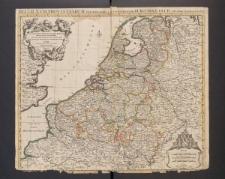 Les dix-sept provinces des Pays-Bas, suivant qu'elles sont possedeés par les roys de France et d'Espagne et les Estats-generaux des Provinces Unies.