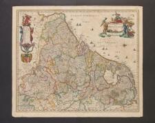Novissima et accuratissima XVII Provinciarum Germaniae Inferioris Delineatio.
