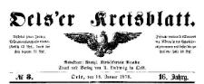 Oels'er Kreisblatt. 1878-05-24 Jg. 16 Nr 21
