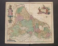 Novissima et accuratissima XVII Provinciarum Germaniae Inferioris Tabula.