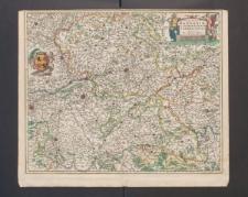 Comitatus Hannoniae et Archiepiscopatus Cameracensis Tabula