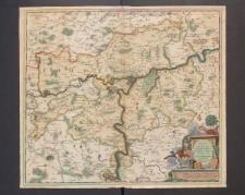 Novissima et Accuratissima Namurci Comitatus Tabula