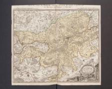 Comitatus Namur Tabula Geographica