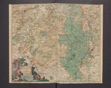 Ducatus Lutzenburgi nova et Accurata Tabula