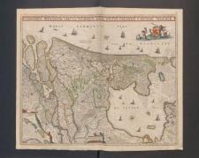 Comitatus Hollandiae tabula pluribus locis recens emendata