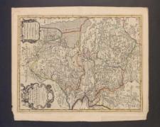 La Seigneurie d'Over-Yssel subdivisée en trois parties Sallant, Twente, et Drente