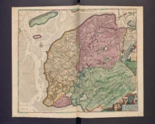 Tabula Comitatus Frisiae Auctore B. Schotano á Sterringa