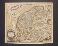 Domini Frisiae Tabula, inter flevum et lavicam