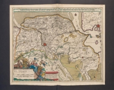 Groningae et Omlandiae dominium vulgo de proovincie van stadt en lande...