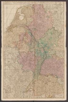 Tabula Geographica qua Pars Septentrionalis sive Inferior Rheni...