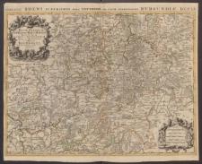 La Basse Partie du Cercle du Haut Rhein Divisé en tous ses Estats et Souverainetés.