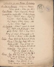 Presbyterologia Lusatica. Nachweis und Materialien zu derselben