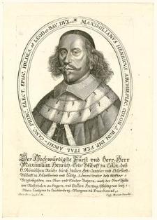 [Maximilian Heinrich von Bayern]