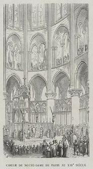 Choeur de Notre-Dame de Paris au XIIIe siècle, ryc. VI