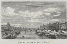 L'Institut, le Pont des Arts, le Louvre, ryc. IX