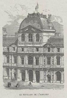 Le Pavillon de l'Horloge, ryc. XXV