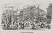 Boulevard Montmartre, ryc. XXXIII