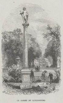 Le Jardin du Luxembourg, ryc. XLVIII
